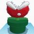 Piranha Plant Planter image