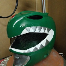 Picture of print of Green Ranger Helmet This print has been uploaded by Jared T