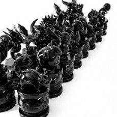 Picture of print of Pokemon Chess Set