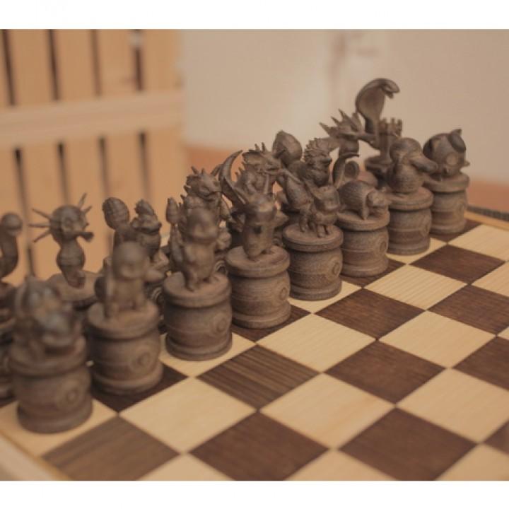 Pokemon Chess Set