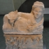 Hellenistic cinerary urn figuring a woman image