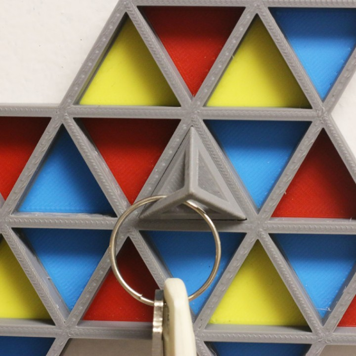 Multi-Color Key Rack