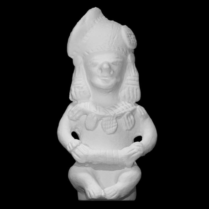 Replica of prehispanic piece from Ecuador