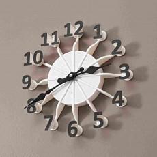 Floating Numbers Clock