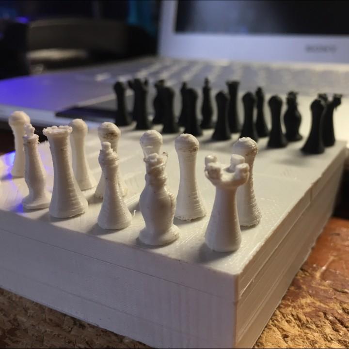 Mini Chess Box