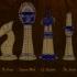 Steampunk Chess Set image