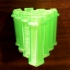 Beehive screw holder & box - Caja de panal para tonillos & caja image