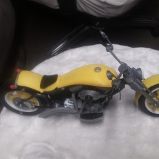 Picture of print of Custom Motorbike
