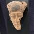 Egyptian wood mummy mask image