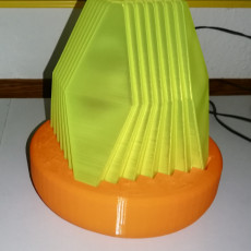 Picture of print of Fractal Led Lamp