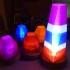 Fractal Led Lamp image
