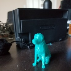 Picture of print of Low Poly Dog - Beto