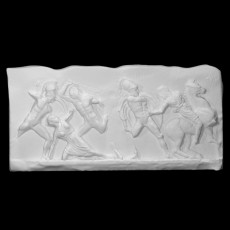 Slab from the Amazon frieze 10