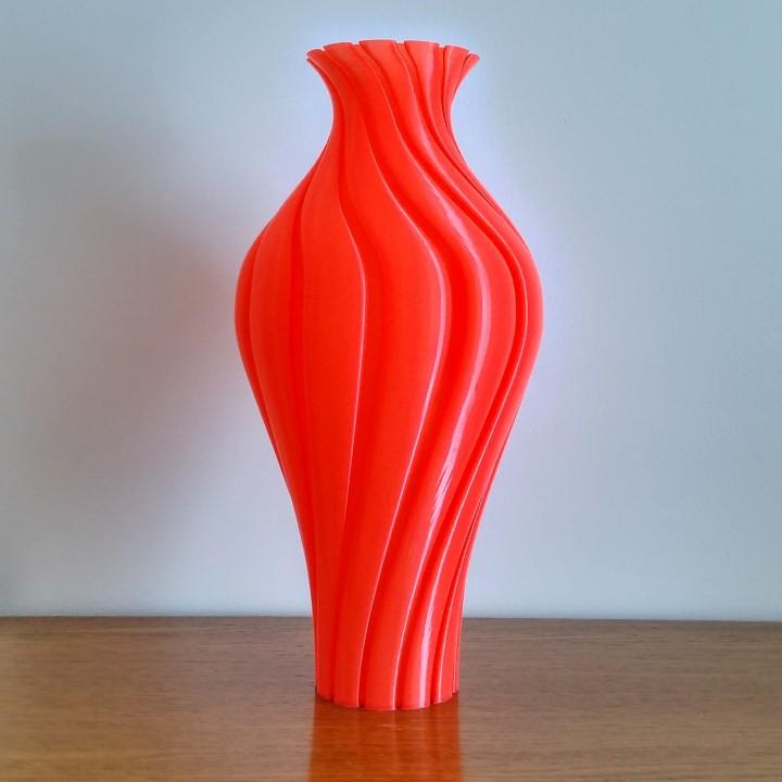 3d Printable Classical Spiral Vase By Jeroen Hustings