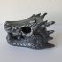 Dragonstone Gate Statue - Game of Thrones print image