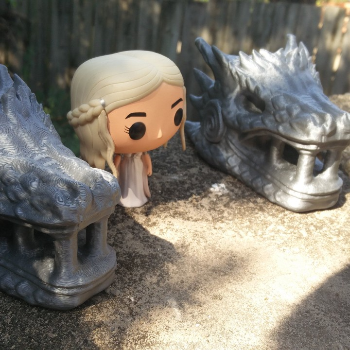 Picture of print of Dragonstone Gate Statue - Game of Thrones This print has been uploaded by Torven Taylour