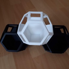 Picture of print of Plantygon - Modular Geometric Stacking Planter