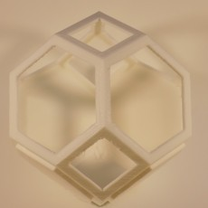 Picture of print of Plantygon - Modular Geometric Stacking Planter