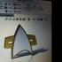 Star Trek Voyager Comm Badge image
