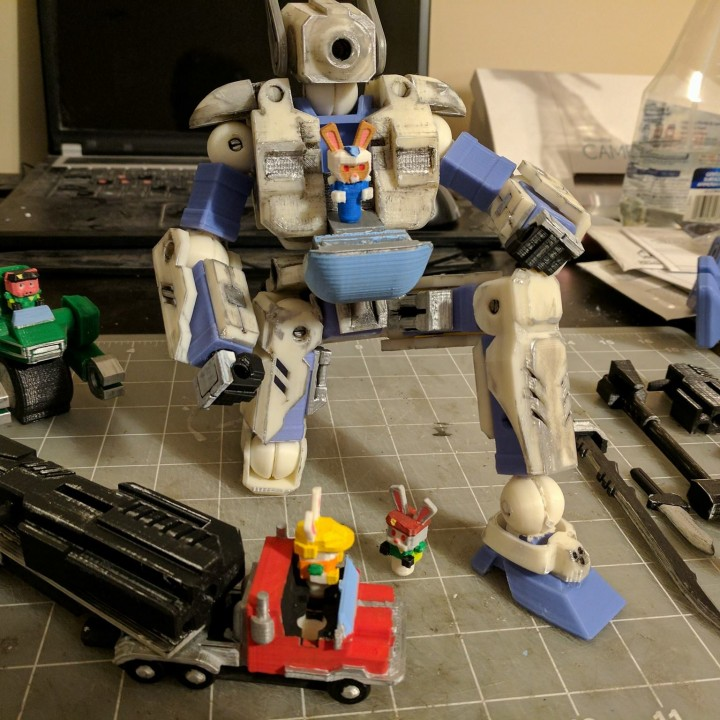 Picture of print of RevoFrame Chassis System This print has been uploaded by WuLongToys