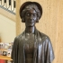 Bronze bust of an unknown woman image