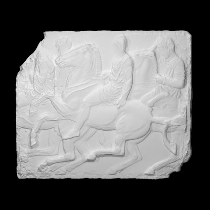 Parthenon Frieze _ North XXXVI, 96-99