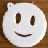 Smiley face emoji keychain image