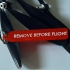 Remove before flight tag image