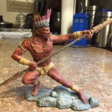 Picture of print of Guerreiro Indigena This print has been uploaded by ArcLight3d