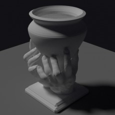 Hand holding Cup