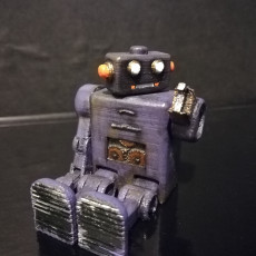 Picture of print of YellowScope YS-2 Bot