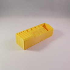 Picture of print of USB and SD card holder