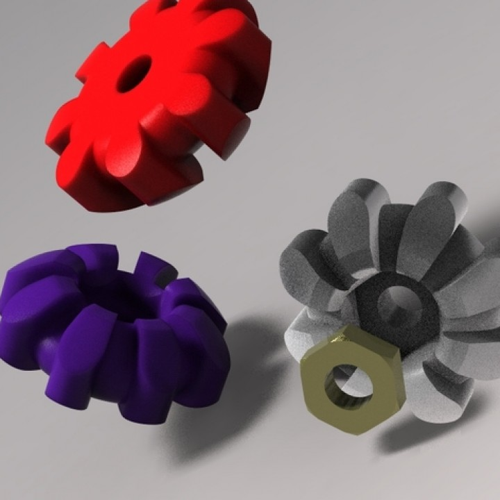 Thumbwheel M3 Knob