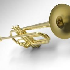 The trumpet. Труба