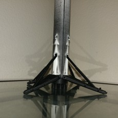 Picture of print of SpaceX Falcon 9 Model Kit