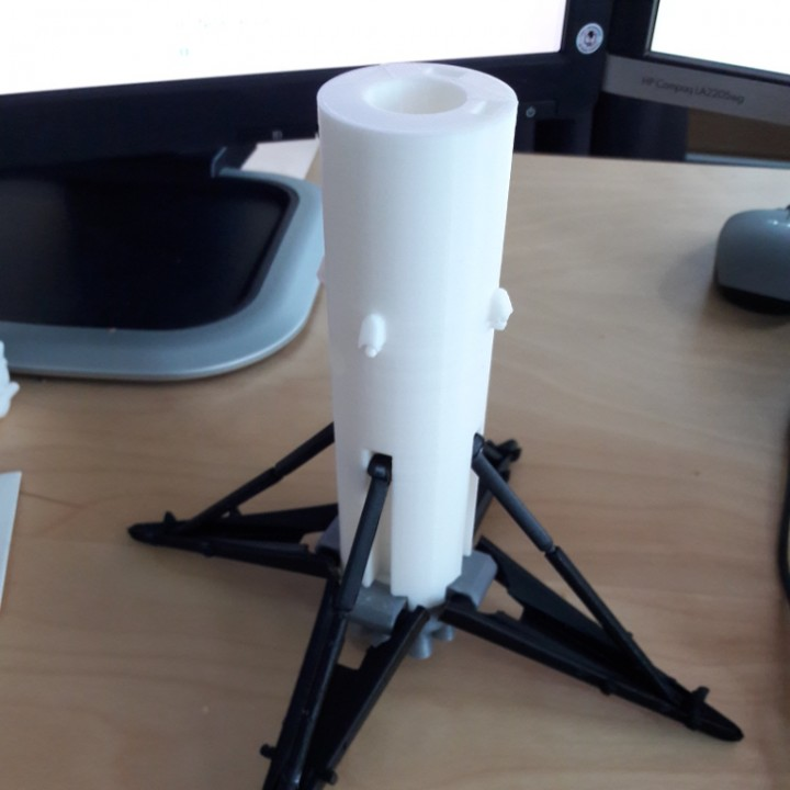 Picture of print of SpaceX Falcon 9 Model Kit This print has been uploaded by Norbert Fekete