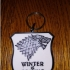 Game of thrones - Stark sigil keychain image