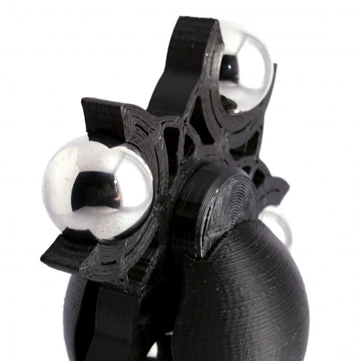4 Ball Medium Fidget Spinner Desk Toy