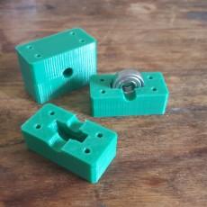 Bearing Block diameter 26mm x 8mm hole 10mm