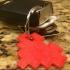 8-Bit Heart Keychain image