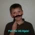 Halloween Mustache and Monocule image