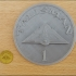 Talisman Giant Gold Coin (board game) Decoration image