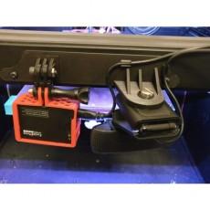Dual Camera mount for Flashforge Creator Pro