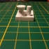Fast printer and material test print image