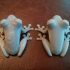 PLA frogs with and without cooling fan (experiment) image