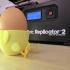 Standing-Sitting Chick Egg Cup (smooth surface) image