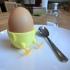 Standing-Sitting Chick Egg Cup (smooth surface) primary image