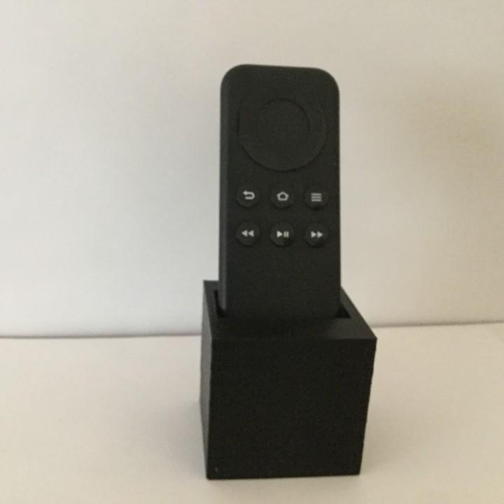 Fire tv remote holder v1
