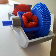 Picture of print of Differential Gear