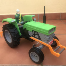 Picture of print of OpenRC Tractor counterweight